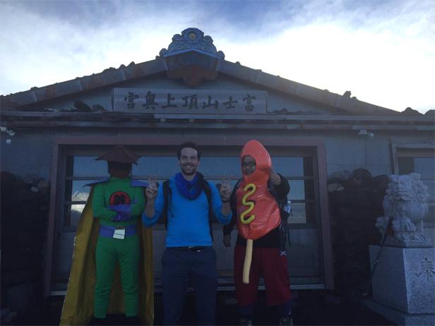 富士山へ登ってきました!