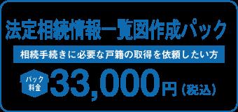 法定相続情報一覧図作成パック 29,800円 相続手続に必要となる戸籍の取得を依頼したい方